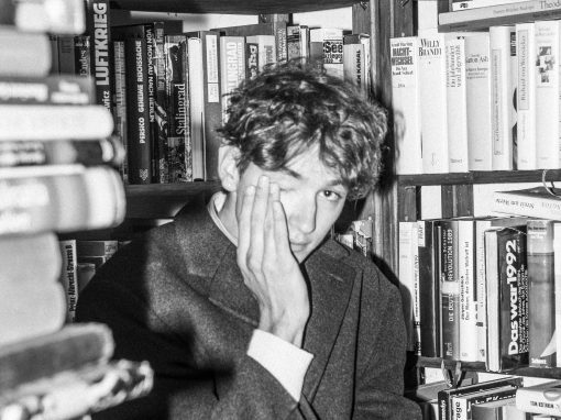Balthasar im Buchladen